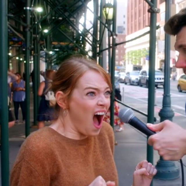 Emma Stone Billy on the Street