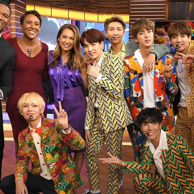 BTS on 'GMA'