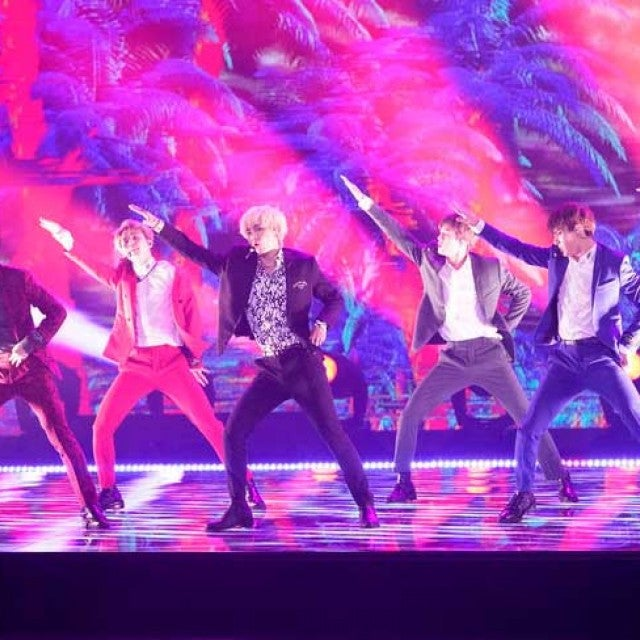 BTS performs on 'America's Got Talent' on Sept. 12, 2018