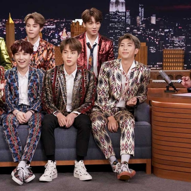 BTS sat down with Jimmy Fallon on the 'Tonight Show' on Sept. 25, 2018
