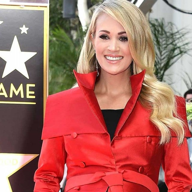 Carrie Underwood honored at Hollywood Walk of Fame star ceremony on Sept. 20.