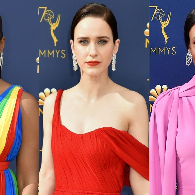 Emmys colorful dresses 1440