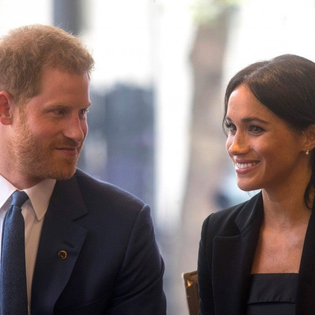 Prince Harry and Meghan Markle at 2018 WellChild Awards