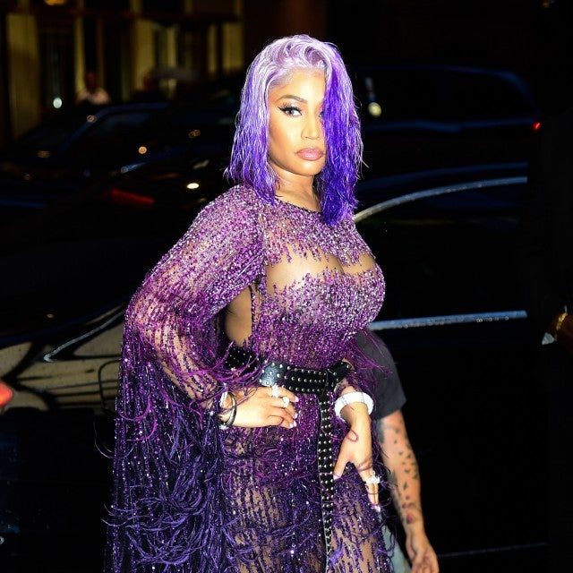 Nicki Minaj at fashion awards