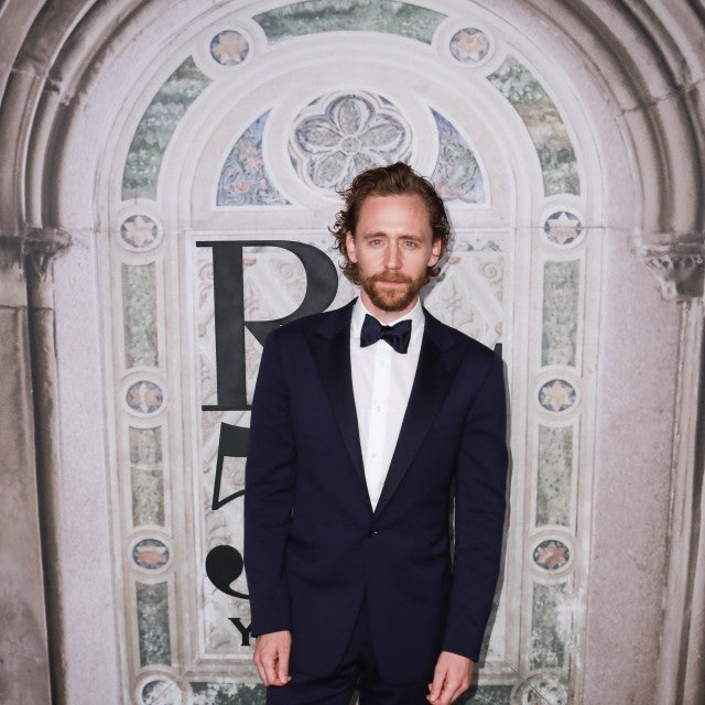 Tom Hiddleston Ralph Lauren show