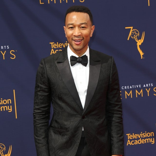John Legend at creative arts emmys