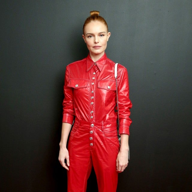 Kate Bosworth at Calvin Klein Collection show during NYFW