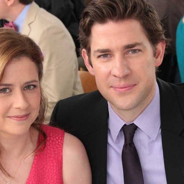 Jenna Fischer and John Krasinski of NBC's 'The Office'