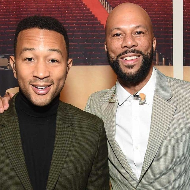 John Legend and Common at the Good+ Foundation benefit concert in New York on Sept. 12