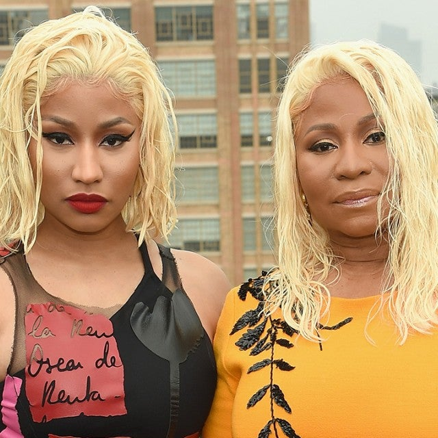 Nicki Minaj and Her Mom at Oscar de la Renta