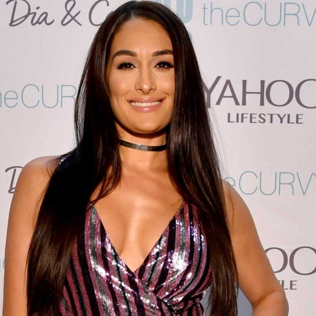 Nikki Bella at the CurvyCon in New York City on Sept. 8