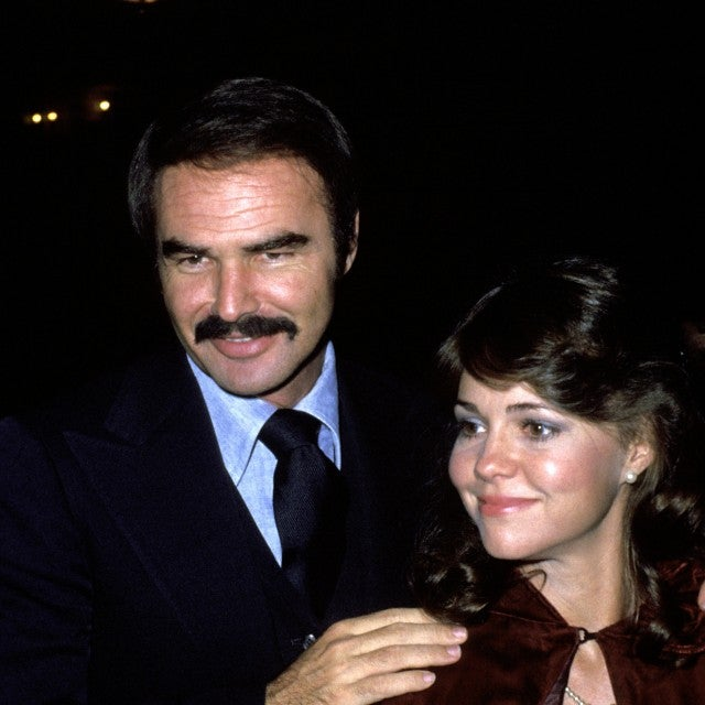 Sally Field and Burt Reynolds during 'Golda' Gala at Tower Suite in New York City, New York, United States.