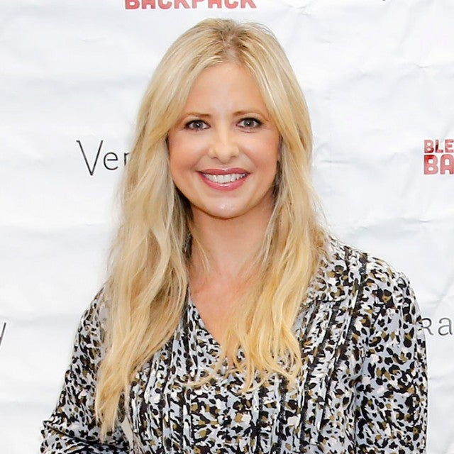 Sarah Michelle Gellar at Vera Bradley blessings event