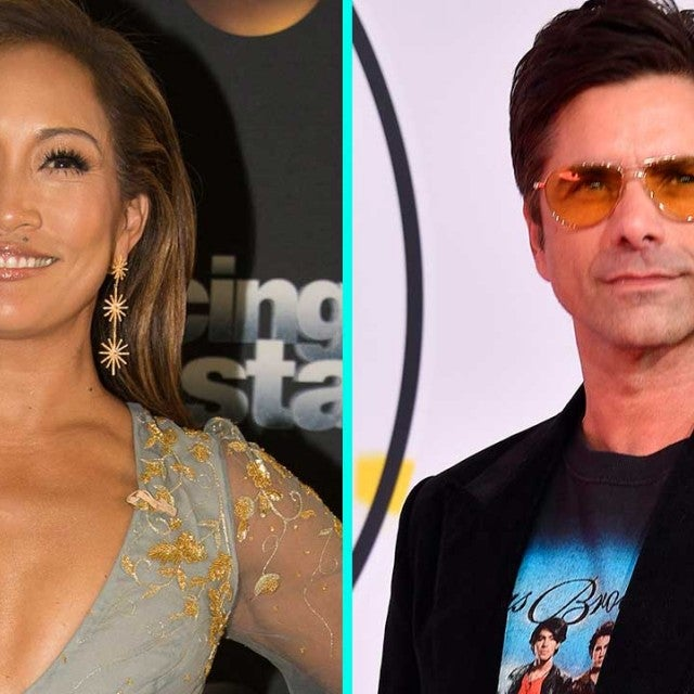 Carrie Ann Inaba and John Stamos
