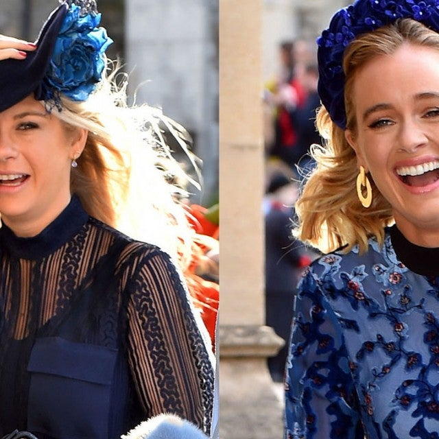 Chelsy Davy and Cressida Bonas