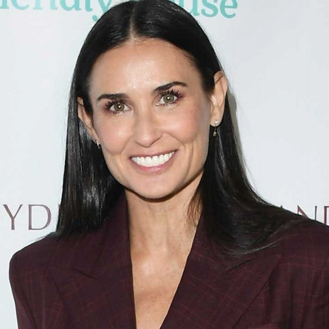 Demi Moore at the the Peggy Albrecht Friendly House awards luncheon in Beverly Hills on Oct. 27