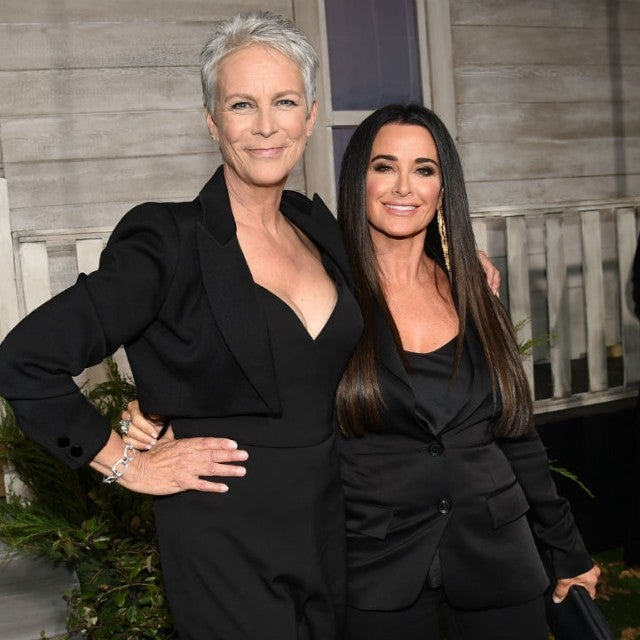Jamie Lee Curtis and Kyle Richards