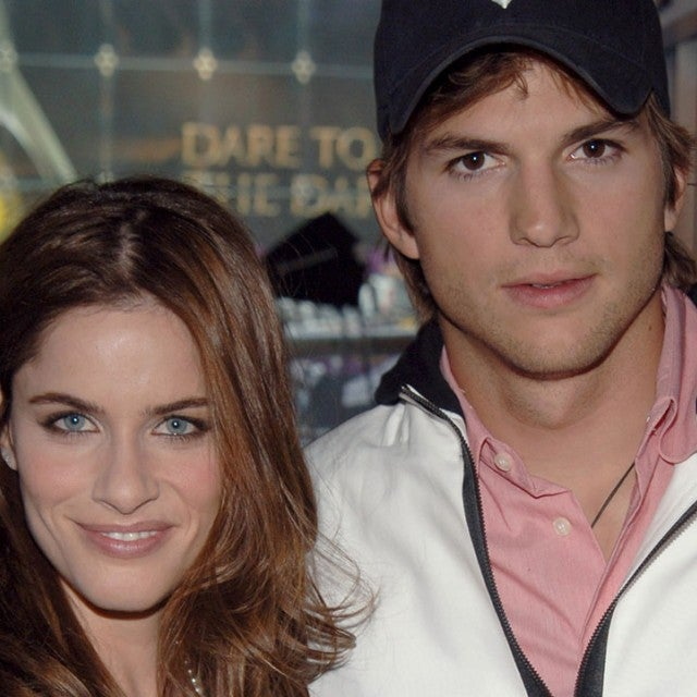 Amanda Peet and Ashton Kutcher