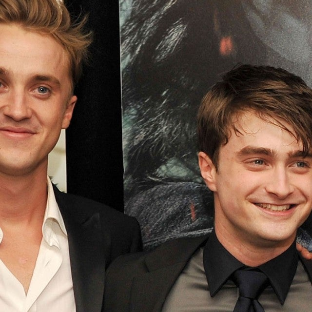 Tom Felton and Daniel Radcliffe