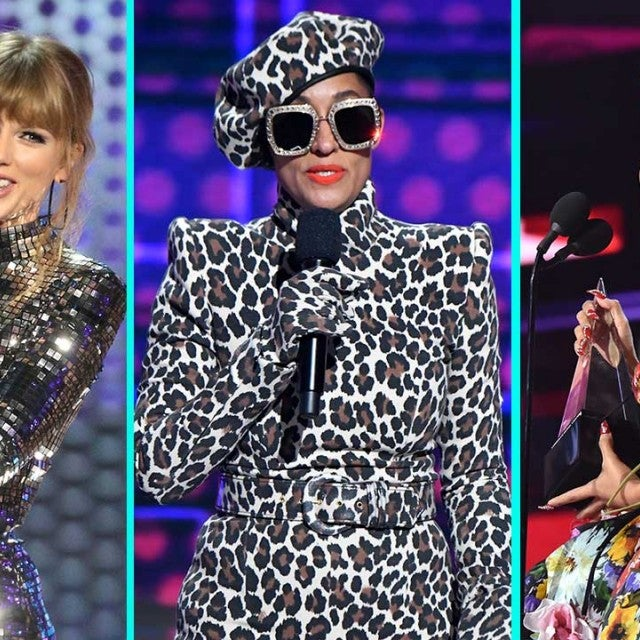 Taylor Swift, Tracee Ellis Ross and Cardi B at the 2018 American Music Awards