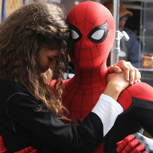 Spider-Man: Far From Home, Zendaya, Tom Holland