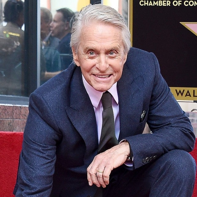 Michael Douglas - Walk of Fame