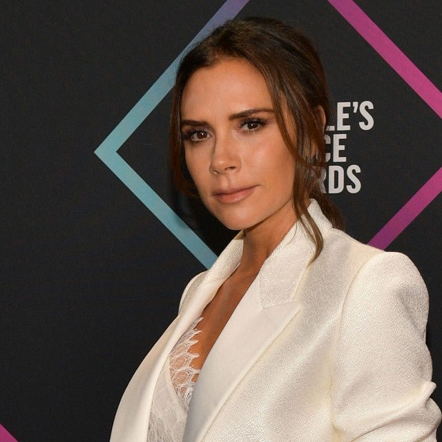 VICTORIA BECKHAM peoples choice awards 2018