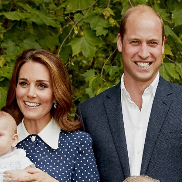 Kate & William in new family portrait