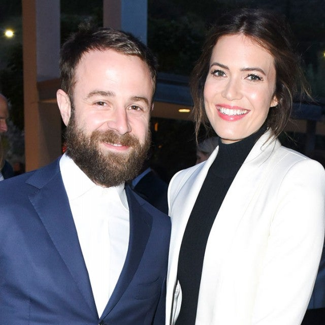 Mandy Moore and Taylor Goldsmith in May 2018