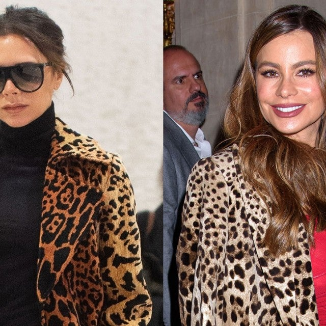 Victoria Beckham and Sofia Vergara split pic