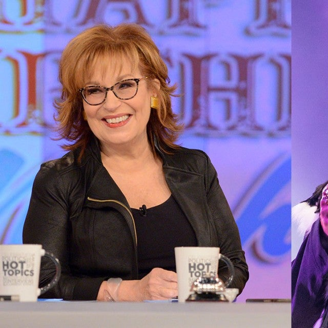 Joy Behar and Kid Rock