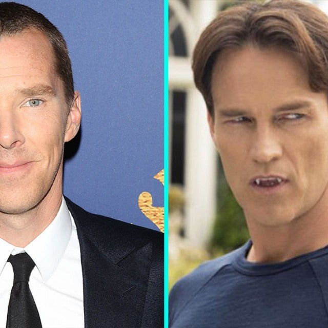 Benedict Cumberbatch - True Blood split