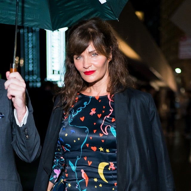 Helena Christensen in nyc in sep 2018