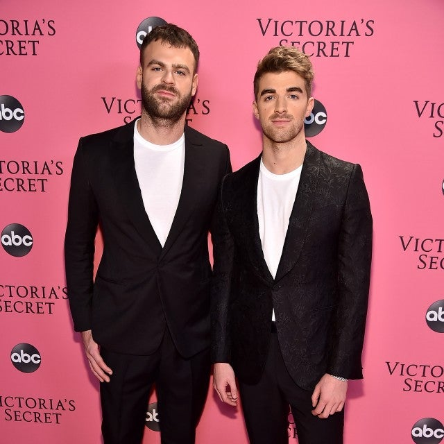 The Chainsmokers at vs fashion show