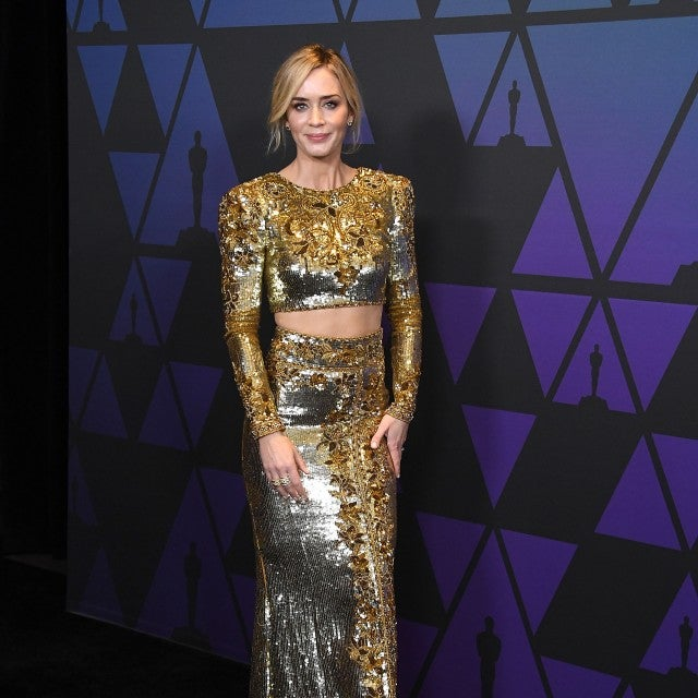 Emily Blunt at governors awards