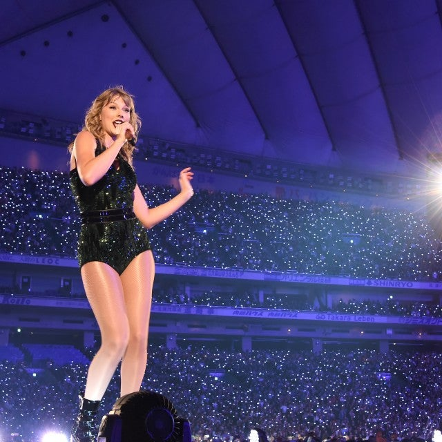 Taylor Swift on tour in Japan