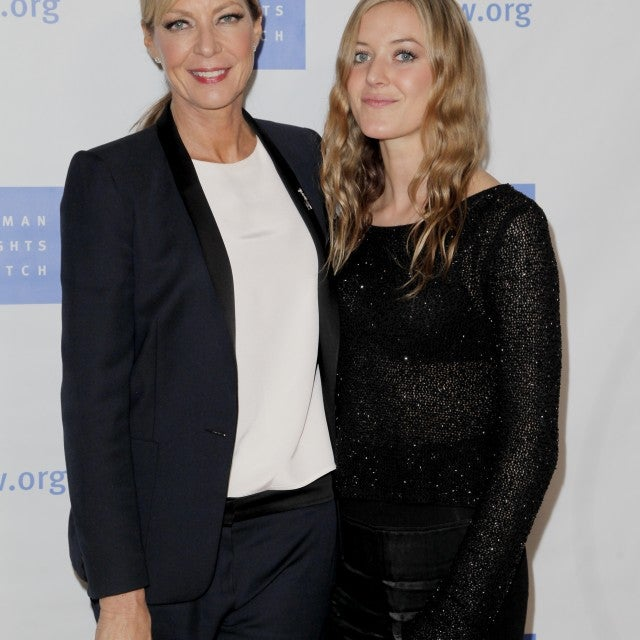Allison Janney and Petra Janney at the annual Voices for Justice Dinner