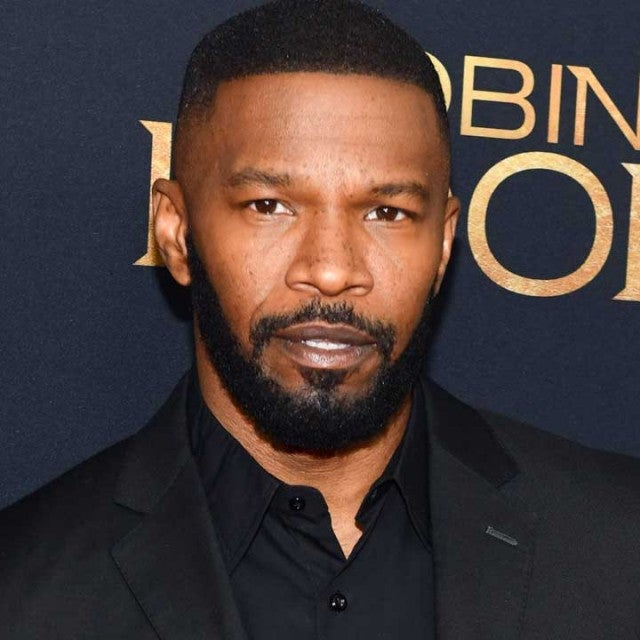 Jamie Foxx at the New York City premiere of 'Robin Hood' on Nov. 11