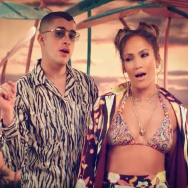 Jennifer Lopez Bad Bunny