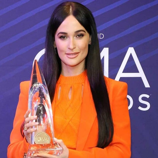 Kacey Musgraves at the 2018 CMA Awards at the Bridgestone Arena in Nashville, Tennessee