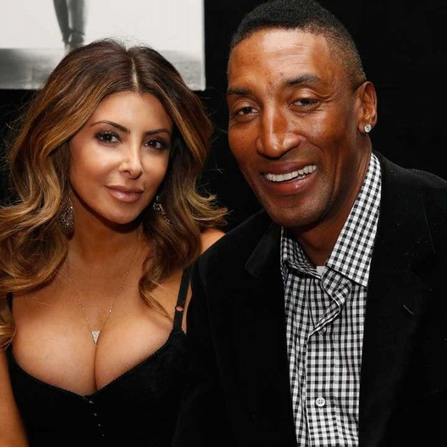 Larsa Pippen and husband Scottie Pippen