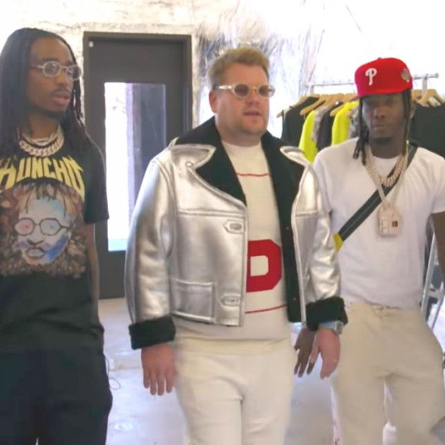 Migos and James Corden