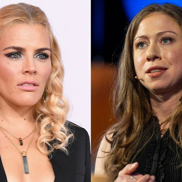 Busy Philipps and Chelsea Clinton