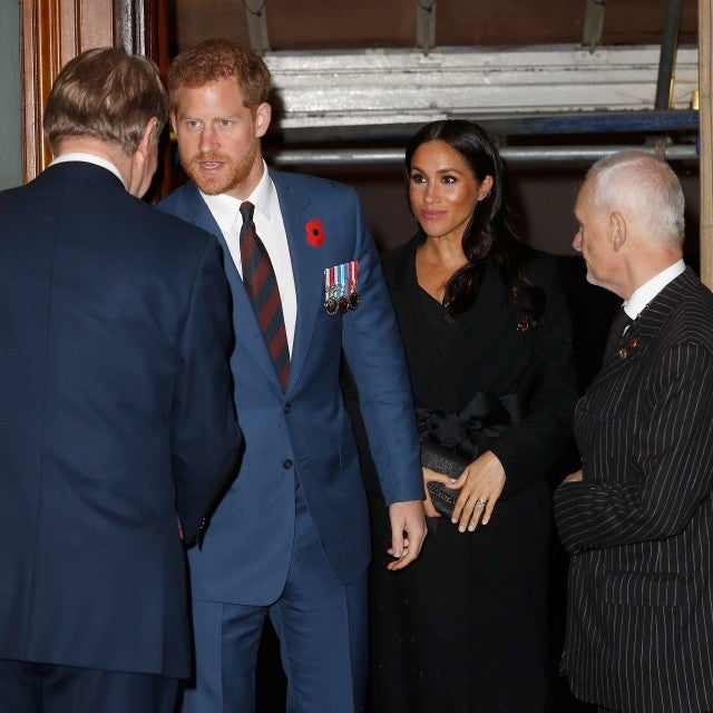 Prince Harry Meghan Markle 2018 Remembrance Day