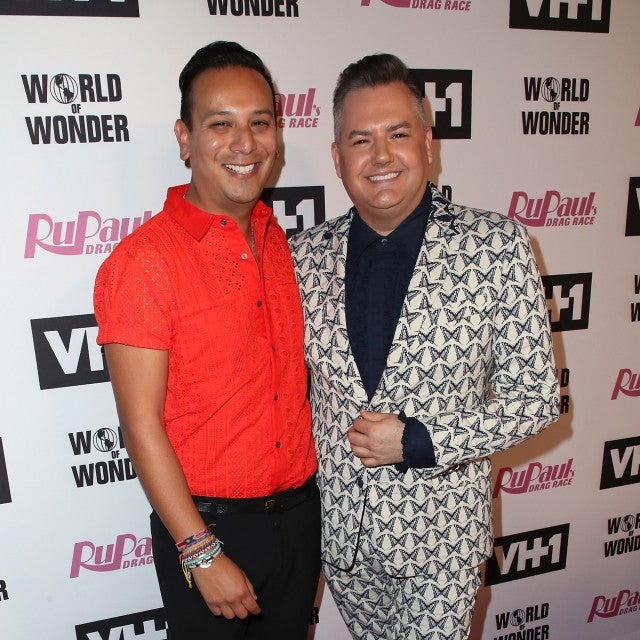 Ross Mathews and Salvador Camarena attend VH1's 'RuPaul's Drag Race' Season 10 Finale at The Theatre at Ace Hotel on June 8, 2018 in Los Angeles, California.