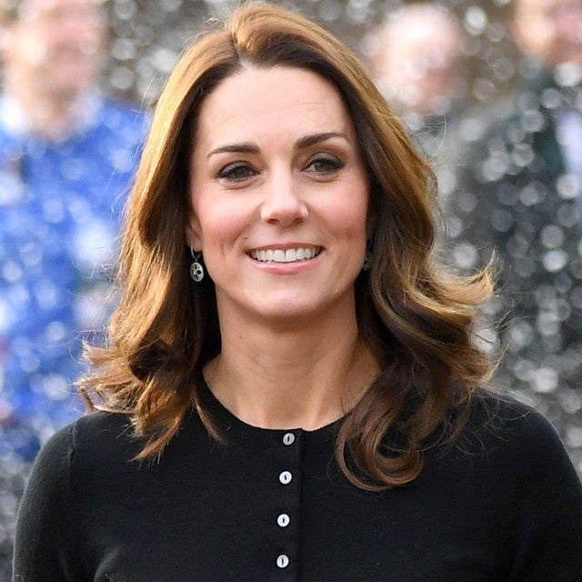 Kate Middleton at christmas party in kensington palace