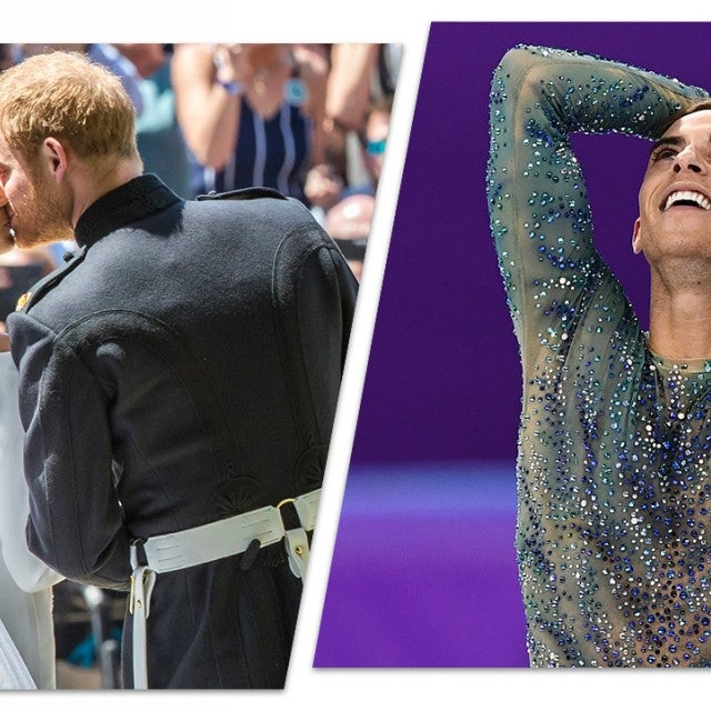 2018 in Review, Prince Harry and Meghan Markle, Adam Rippon