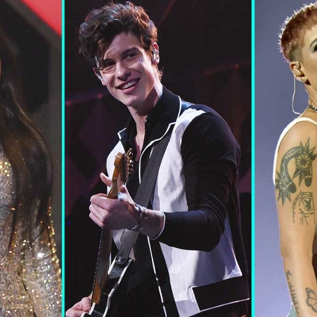 Camila Cabello, Shawn Mendes and Halsey