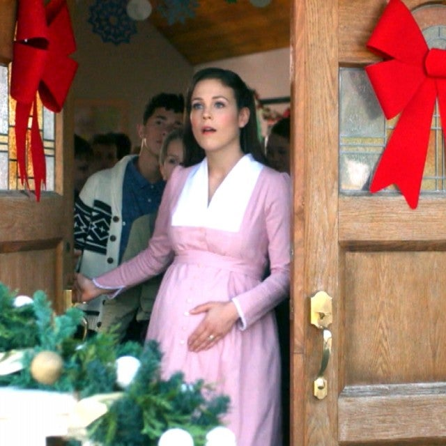 'When Calls the Heart' Christmas Movie Trailer: Elizabeth Prepares to Give Birth! (Exclusive)