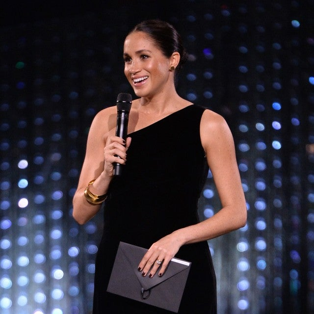 Meghan Markle at 2018 British Fashion Awards.